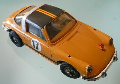 Märklin Sprint, seltener PORSCHE 911 Targa in OCKER, läuft TOP,  Nr. 1310