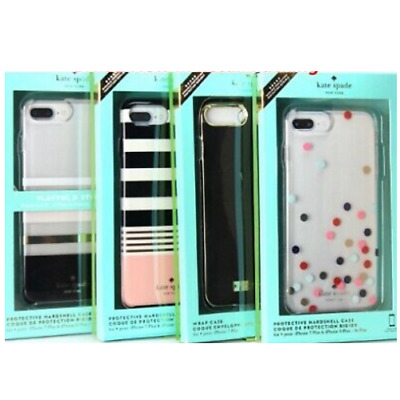 Kate Spade NY Liquid Wrap Hard & Glitter Case Cover iPhone 8 Plus 7 Plus & 8/7