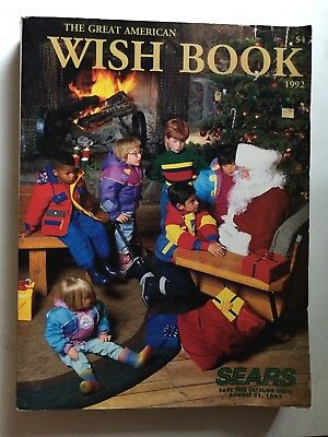 1992 Sears Christmas Wish Book Catalog
