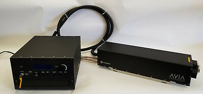 Coherent AVIA 355-10 Flex 10W 355nm Solid State Q-Switched UV Laser - Excellent!