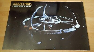 Rare Star Trek Deep Space Nine 9 Poster 24x36