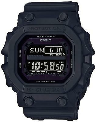 New!! CASIO G-SHOCK GXW-56BB-1JF Solar Radio Men's Watch from Japan Import
