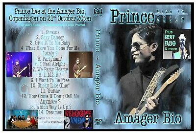 Prince  - 1 DVD set - Live show and aftershow  2010 & TV appearances