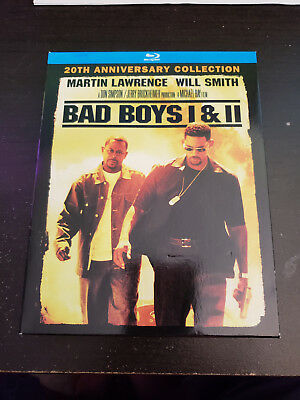 Bad Boys / Bad Boys II (Blu-ray Disc, 2015, 2-Disc Set) - Like New