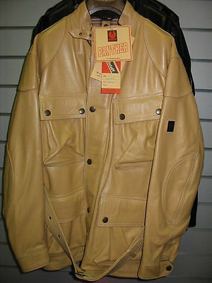 BELSTAFF Panther LEATHER FILM JACKET XL RARE NEW & GENUINE