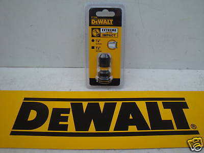 "Dewalt Dt7508 Impact Wrench To Driver Attachment 1/2""square To 1/4"" Hex Adaptor"