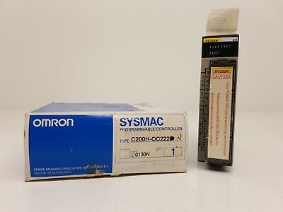 OMRON C200H-OC222 output unit 12 OUT relay 250 VAC 24 VDC