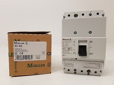 EATON MOELLER N1-63 switch disconnector 3P 63A 6KV 259143