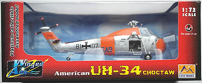 Easy Model UH-34 Choctaw SAR Helicopter Hubschrauber Bundesmarine 1:72 Neu/OVP