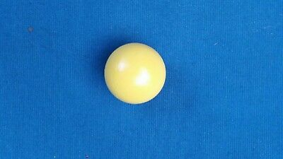PALLINO LG YELLOW BALL-OFFICIAL SOLID WOOD TARGET BOCCE BALL MADE IN ITALY-50mm