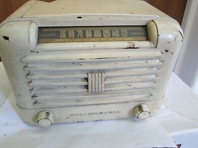 Westinghouse AM Tube Radio for parts or repair