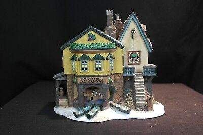 REDUCED! Dept 56 Dickens' Village Series The Grapes Inn, 5th Edition,1996 #57534