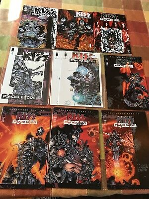 Kiss Psycho Circus Comic Book Lot - 27 Comics (some doubles)