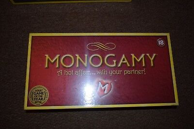 Monogamy A Hot Affair..With Your Partner Board Game BNIB Free-Post UK