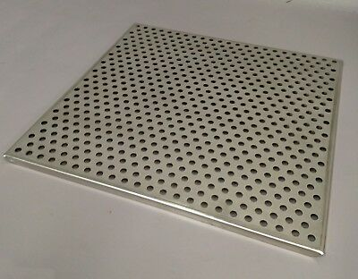"""Laboratory Stainless Steel Perforated Incubator Autoclave Shelf 17.75"""" x 17.75"""""""