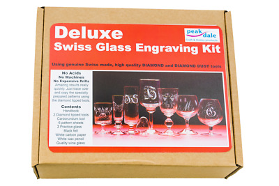 Swiss Glass Etching Deluxe Kit 169
