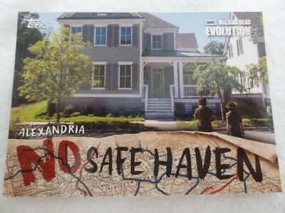The Walking Dead Evolution No Safe Haven Chase Card NSF-3 Alexandria