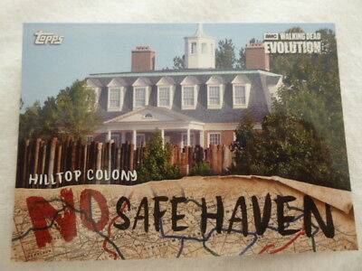 The Walking Dead Evolution No Safe Haven Chase Card NSF-8 Hilltop Colony