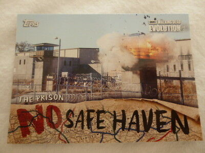 The Walking Dead Evolution No Safe Haven Chase Card NSF-7 The Prison