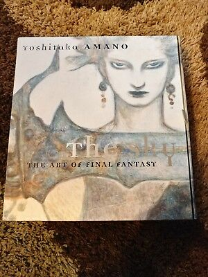 The Sky: The Art of Final Fantasy Slipcased Edition by Yoshitaka Amano vol.1-3