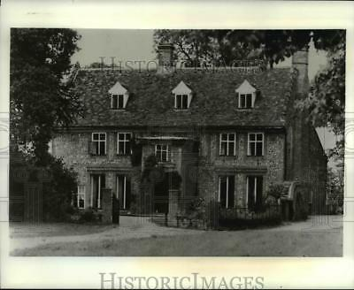 1981 Press Photo Queen Anne Boleyn home offers bed and breakfast in suite