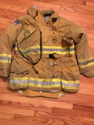 Morning Pride Firefighter Turnout Coat 2009 Size 42/30.5 Halloween Costume