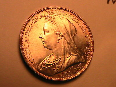 1896 GREAT BRITAIN Maundy 4 Pence Ch BU PL Light Tone Fourpence UK Silver Coin