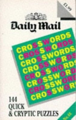 Daily Mail Crossword: No 46 Paperback Book The Cheap Fast Free Post
