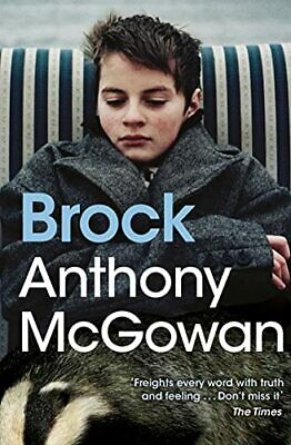 Brock by Anthony McGowan Book The Cheap Fast Free Post