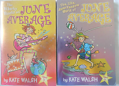 June Average Bulk Book Pack - 2 Books - Like Random - Kate Walsh