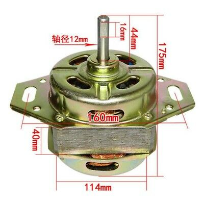 1PCS Washing Machine Driving Motor 180W Double Roller Bearing 44mm Shaft Length