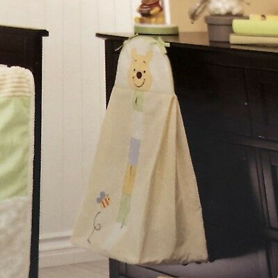 New Disney Baby Winnie The Pooh Peeking Diaper Stacker Nursery Decor