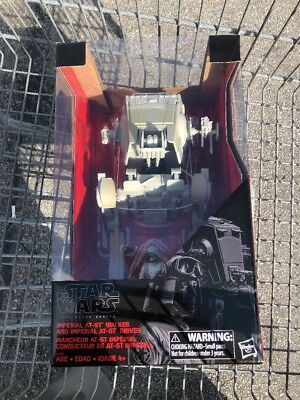 Star Wars: Imperial At-St Walker & Figure (Part of the Black Series) *COOL & NEW