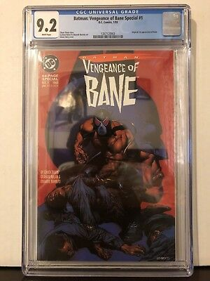 Batman: Vengeance Of Bane #1 CGC 9.2 White Pages 1st Appearance Bane First Print