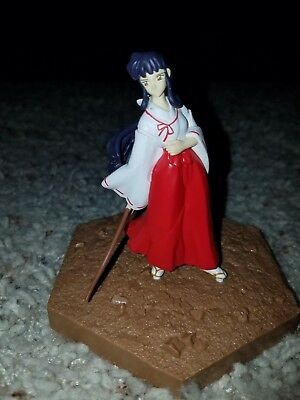 Inuyasha kikyo banpresto figure anime rare import Japan