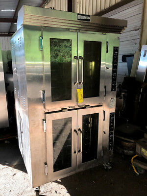 Used Doyon Bakery Oven (2 compartments)
