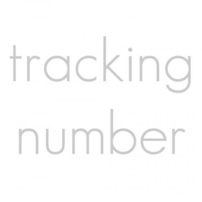 *tracking Number Option