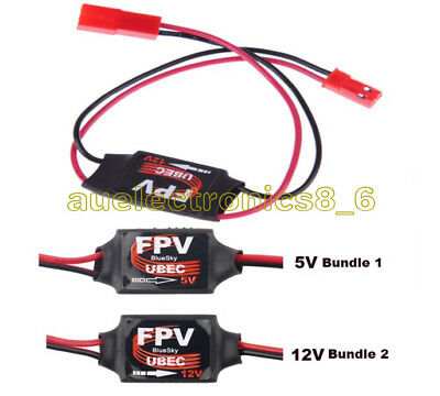 DC-DC 5V 12V Step Down Module Converter 3A Mini UBEC BEC For RC Plane FPV