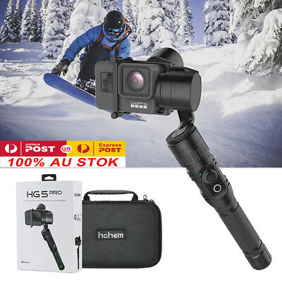 Hohem HG5 Pro 3Axis Aluminum Stabilizer Handheld for GoPro Hero 7/6/5/4/3 Camera