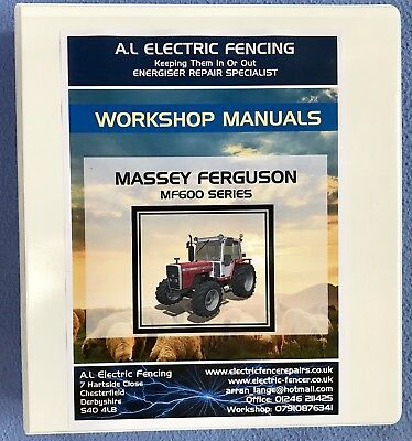 Massey Ferguson 600 Series Workshop  Manual,MF600 Workshop Manual.Free Postage