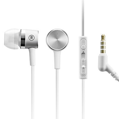 3.5mm In-Ear Earphones Bass Stereo Headphones Headset Earbuds With Microphone US