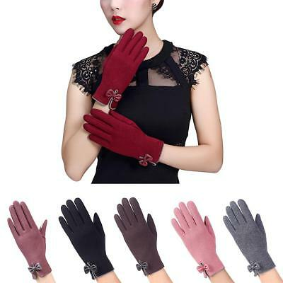 Windproof Touch Screen Winter Thick Warm Insulation Lined Smart Sotf Gloves New