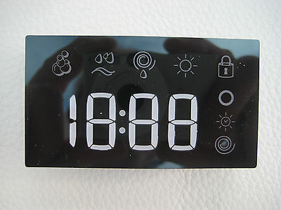 Indesit Washer Dryer IWDE7125 LED Display Block