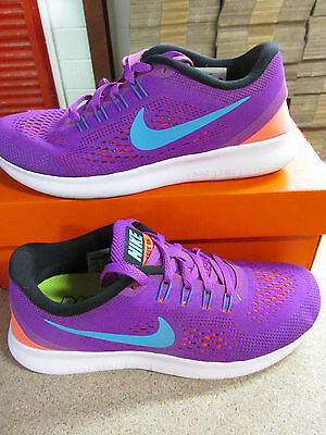 newest 25231 8879a Nike Femmes Gratuit Rn Basket Course 831509 500 Baskets