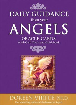 Daily Guidance From Your Angels Oracle Cards 365 Angelic Messag... 9781401907723