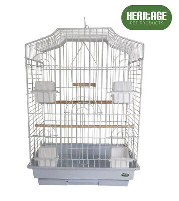 HERITAGE WINDSOR X/LARGE BUDGIE BIRD CAGE 47x36x56CM FINCH CANARY BIRDS HOUSE