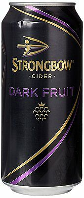 Strongbow Dark Fruit Cider Cans 20 x 440ml FAST SHIPPING GIFT NEW