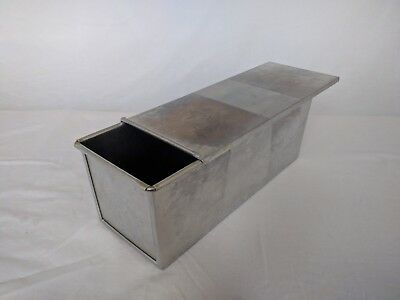 1000g Pullman Loaf Pan, Lidded Bread Tin, Sold as seen