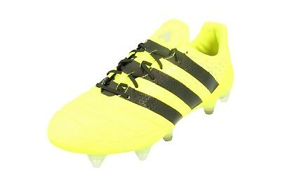 sale retailer dbc02 9366b Adidas Ace 16.1 SG AQ4451 Leather Mens Football Boots Soccer Cleats