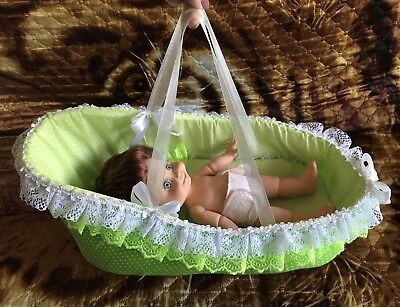 Cradle carrying for Galoob Baby Face dolls